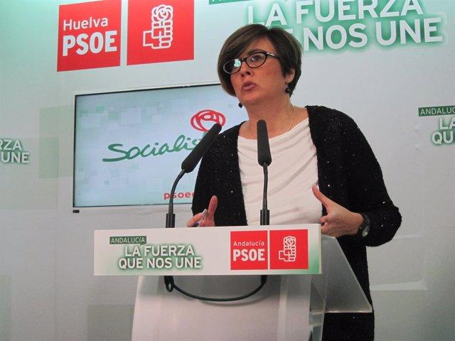 La diputada socialista María José Rodríguez.