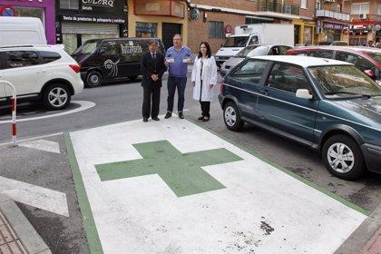 Getafe habilita cinco plazas de aparcamiento para los usuarios de farmacias