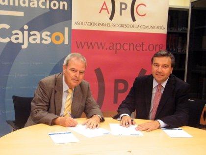 RSC.-Instituto de Estudios Cajasol y la Asociación para el Progreso de la Comunicación acuerdan difundir sus actividades
