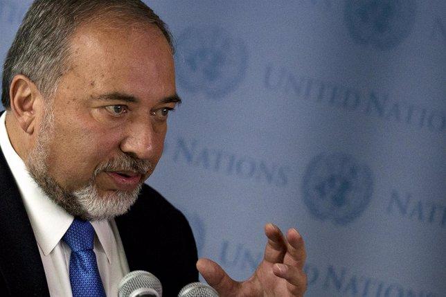 Avigdor Lieberman, en un evento de Naciones Unidas.