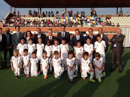 """Butragueño considera necesarios los valores de """"compañerismo y superación"""" para que los niños puedan jugar al fútbol"""