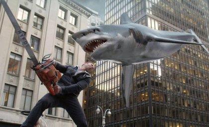 Sharknado 3: Tiburones en Disney World... y en la Casa Blanca