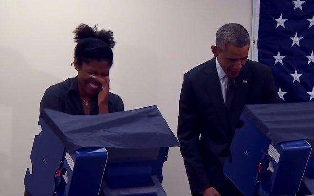 Obama se tomó con humor el comentario