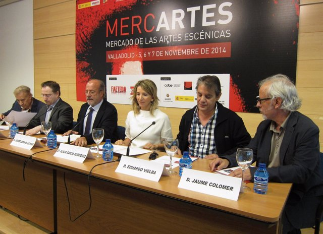 Presentación de la Feria Mercartes en Valladolid