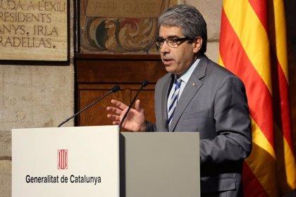 """Homs alaba el nivel de calidad """"muy alto"""" del periodismo en Catalunya"""