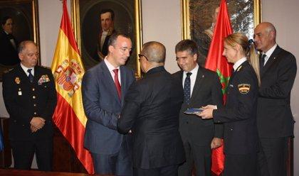 España condecora a los responsables de la lucha antiterrorista de Marruecos