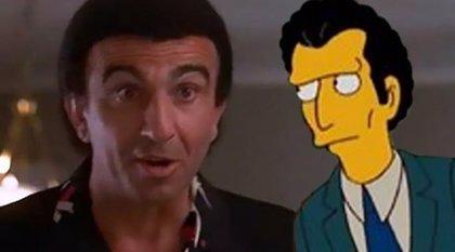 Un actor demanda a Fox por basar un personaje de 'Los Simpsons' en él