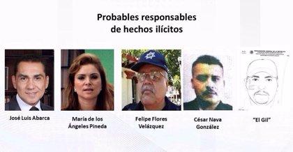 Señalan al alcalde de Iguala y a su mujer como responsables de la desaparición de los 43 'normalistas'