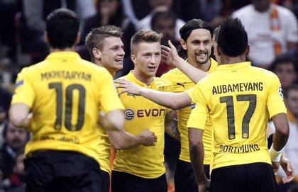 El Dortmund se gusta en Europa y el Arsenal salva el desastre