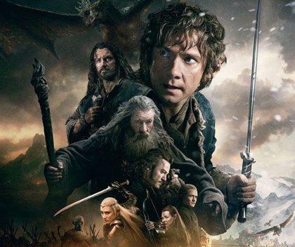 Póster final de El Hobbit: La batalla de los cinco ejércitos