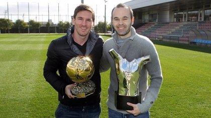 """Iniesta: """"Si Leo Messi supera el récord nuestra gran felicidad será que estaremos cerca de ganar"""""""