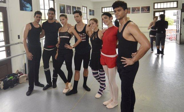 Bailarines desertores del Ballet Nacional de Cuba