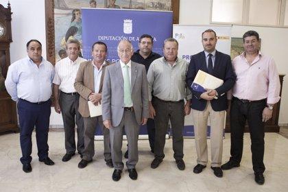 La Diputación impulsa las formación de desempleados del Almanzora en el sector cárnico