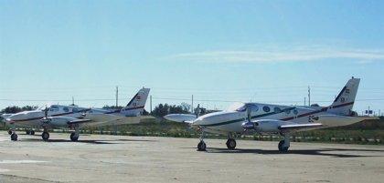 El Aeropuerto de Reus es base operativa de aeronaves de seguimiento del Rally Catalunya