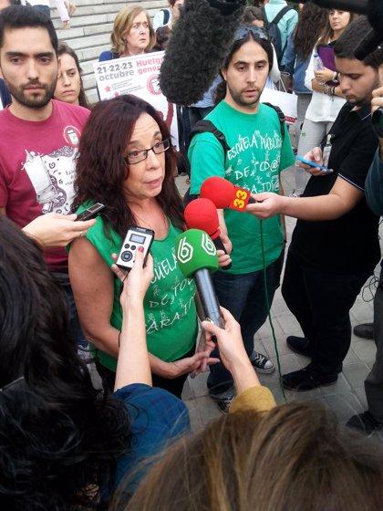 Arranca la marcha estudiantil en Madrid que cierra el paro de 72 horas contra la LOMCE y por la dimisión de Wert