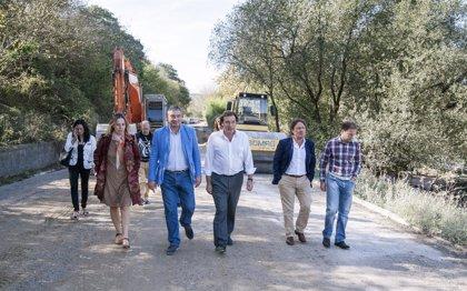 """El Gobierno regional destina más de 3,5 millones a hacer de la CA-233 entre Puente Arce y Renedo en una """"excelente vía"""""""
