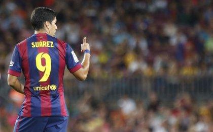 Luis Suárez cumple su castigo y espera redimirse en el 'clásico'