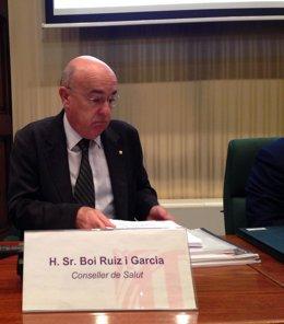 El conseller de Salud de la Generalitat, Boi Ruiz.