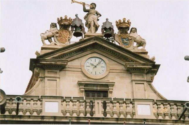 Reloj Del Ayuntamiento De Pamplona