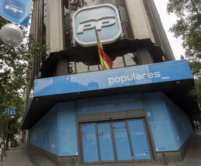 Sede del PP en la calle Génova