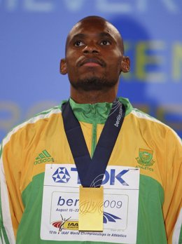 El atleta sudafricano  Mbulaeni Mulaudzi, fallecido a los 34 años