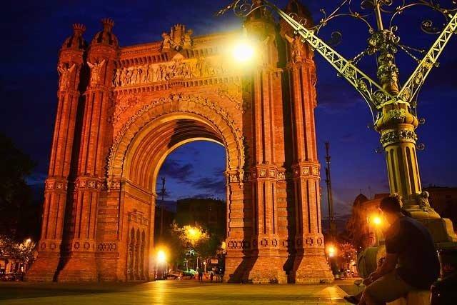 El Arc De Triomf De Barcelona, Arco Del Triunfo De Barcelona