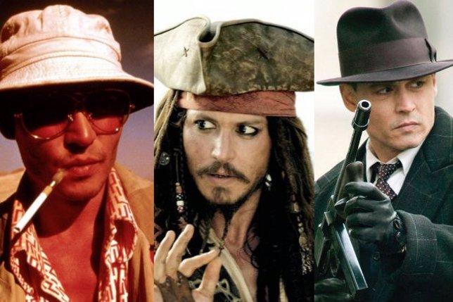Sombreros de Johnny Depp
