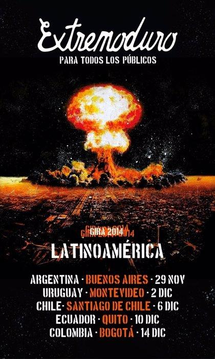 Extremoduro actuarán en Latinoamérica