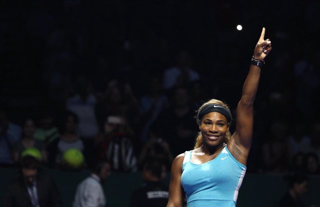 Serena Williams gana en la Copa de Maestras