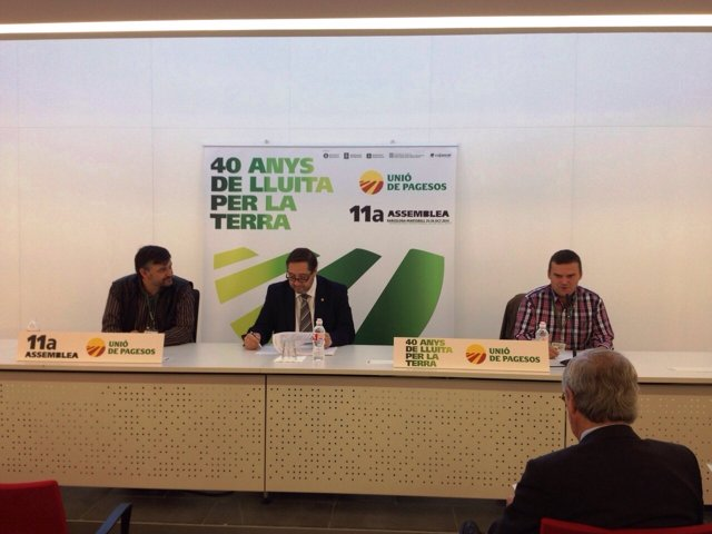 El conseller de Agricultura de la Generalitat, Josep Maria Pelegrí