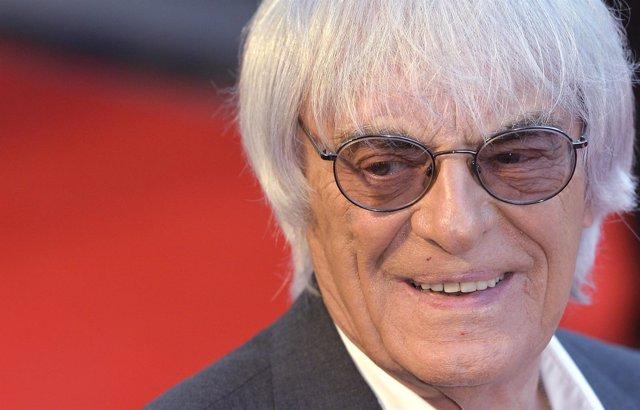 El director comercial de la F1, Bernie Ecclestone