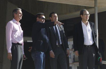 Peter Lim visitó el nuevo estadio del Valencia