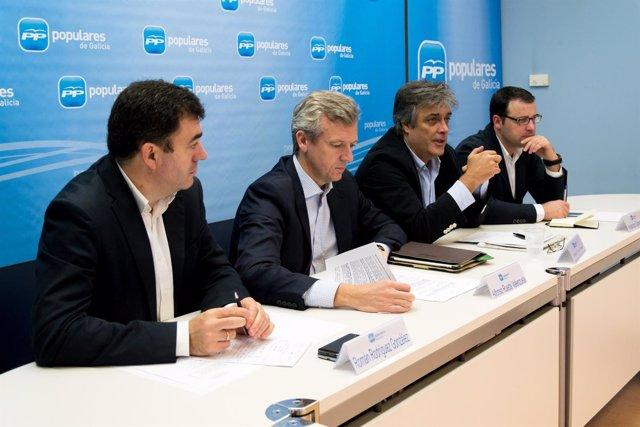 Reunión del comité redactor del programa electoral del PPdeG