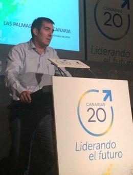 Fernando Clavijo en la Conferencia Política