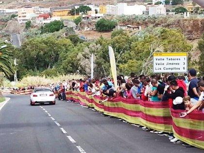 Atropellan a un aficionado en la subida a Valle Tabares-Jiménez