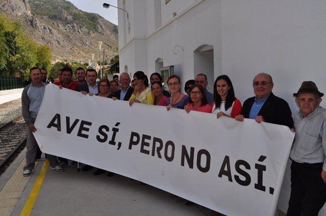 Acto del PSOE en Loja