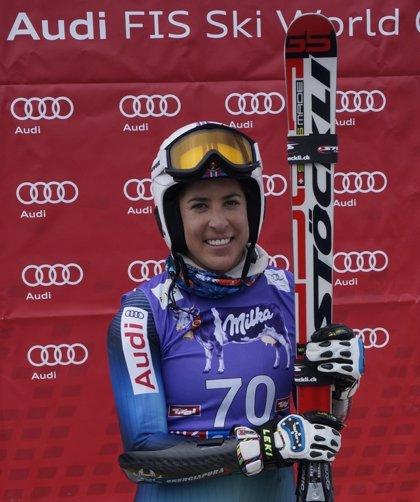 Carolina Ruiz pone rumbo a las pruebas de velocidad de Estados Unidos y Canadá tras el test de Soelden