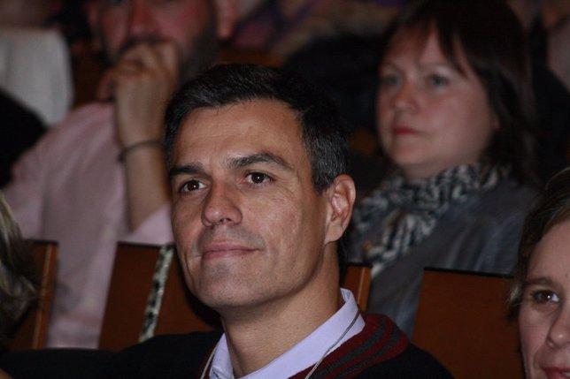 Pedro Sánchez, acto con Fademur en Toledo