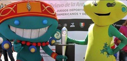 La antorcha de los Juegos Centroamericanos llega a Veracruz