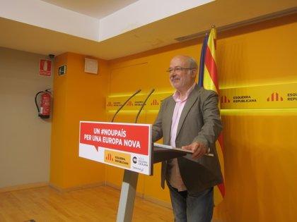 """Terricabras (ERC) cree que la """"disposición europea está ganada"""" si hay participación masiva"""