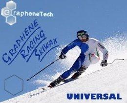 GrapheneTech desarrolla la primera cera elaborada con grafeno para deportes.