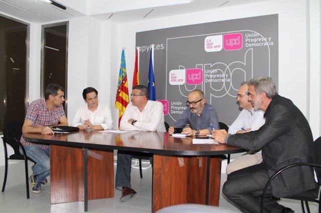 Reunión de candidatos de UPyD