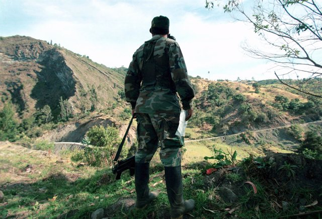 Comandante Oscar Rondon de las FARC