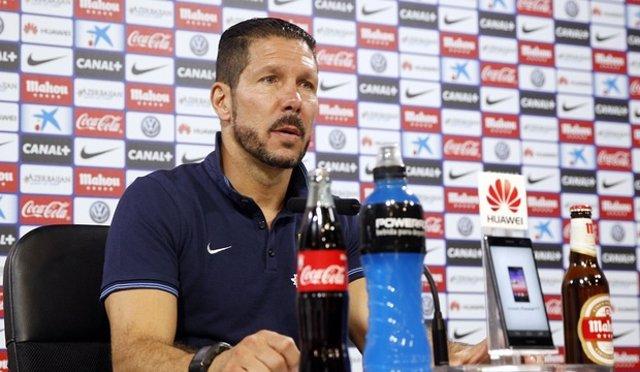 Simeone rueda prensa Atlético