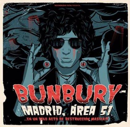 Bunbury muestra el tráiler de 'Madrid Área 51'