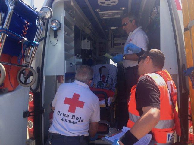 Equipo Médico de Cruz Roja Española en Águilas