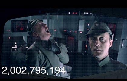 VÍDEO: Los 2.000 millones de muertes de Star Wars, en tres minutos