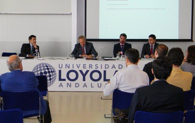 Jornadas sobre normativa en energías renovables en Universidad Loyola Andalucía