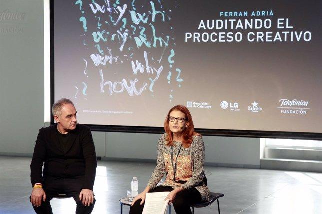 La nueva exposición de Ferrán Adriá en Madrid