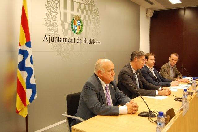 El alcalde de Badalona X.G.Albiol presenta un plan contra el absentismo escolar